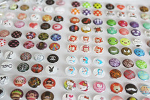 Whole Sale 330pcs/Lot Mobile Phone Cartton Rubber Home Button Sticker For iPhone 4 5 6 6s plus Home Button Protector Sticker(China)