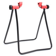 MTB Road Mountain Cycling Bicycle Bike Stand Display Wheel Hub Bike Repair Stand Kick Stand for Folding Parking Holder