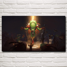 Murlocs Hearthstone Heroes of WoW Video Game Art Silk Poster Print Home Wall Decor Painting 11x20 16x29 20x36 Inch Free Shipping