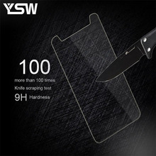 Buy YSW Homtom HT50 Tempered Glass Film Screen Protector Screen Guard Homtom HT50 Film Matte Clear Glossy Anti-glare for $1.17 in AliExpress store