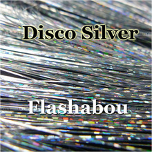 Tinsel Flash Micro Lure-Making Tying Metallic Disco 20-Packs Fly-Jig Mylar Silver-Color