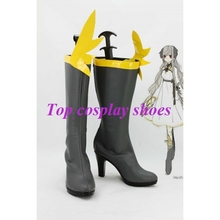 Freeshipping anime Oracle Anecdotes Ash plume Cosplay Boots Shoes custom-made for Halloween Christmas