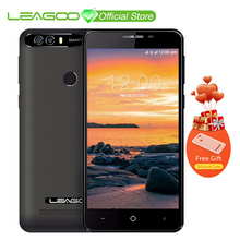 LEAGOO KIICAA POWER Android 7.0 Dual Camera Mobile Phone 4000mAh 5.0 Inch MT6580A Quad Core 2GB RAM 16GB Fingerprint Smartphone(China)