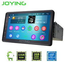 JOYING 2GB 7inch 1DIN GPS CAR RADIO ANDROID 6.0 HD HU Tape recorder BLUETOOTH 4.0 STEERING-WHEEL CONTROL GPS NAVI Player Monitor(China)