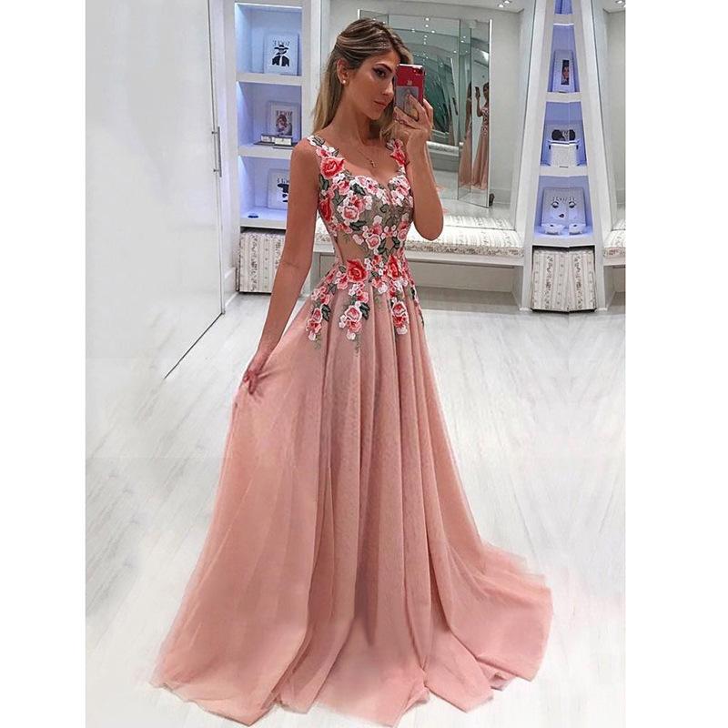 Elegant Long dresses catalog photo