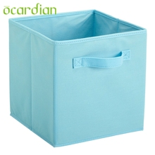 OCARDIAN Fabric Cube Storage Bins, Foldable, Premium Quality Collapsible Baskets, Closet Organizer Drawers