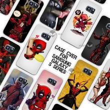 Hot Salemovie knife deadpool Style Clear Case Cover Coque Shell for Samsung Galaxy S3 S4 S5 Mini S6 S7 Edge Plus(China)