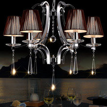 HGHomeart Modern Crystal Lamp LED Chandelier Lustre Design Chandeliers Living Room Light Bedroom Energy Saving Lamp Suspension(China)