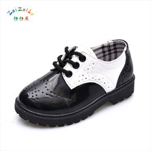 Toddler Girl Boots Children's Kids Leather Boots Boys Single Princess 2017 Spring Autumn Casual Breathable Females Shoes