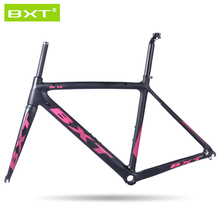 BXT Carbon Road Bike Frame 2016 Di2 and Mechanical 500/530/550mm Super Light carbon road Frame+Fork+headset carbon bicycle frame