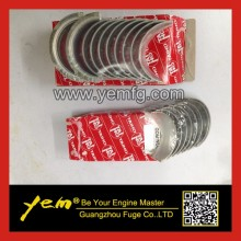 For Mitsubishi diesel engine parts S4L S4L2 Crankshaft bearing +con rod bearings(China)