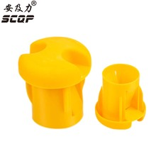 18-30MM Large Reinforced Protective Cap Plastic Cable Wire Thread Cover Steel Pole Tube Pipe Protecting Construction End Caps(China)