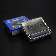 Hot Sale 1pcs Automatic Rolling Machine High Quality Silver Tobacco Roller Tin Cigarette Rolling Machine