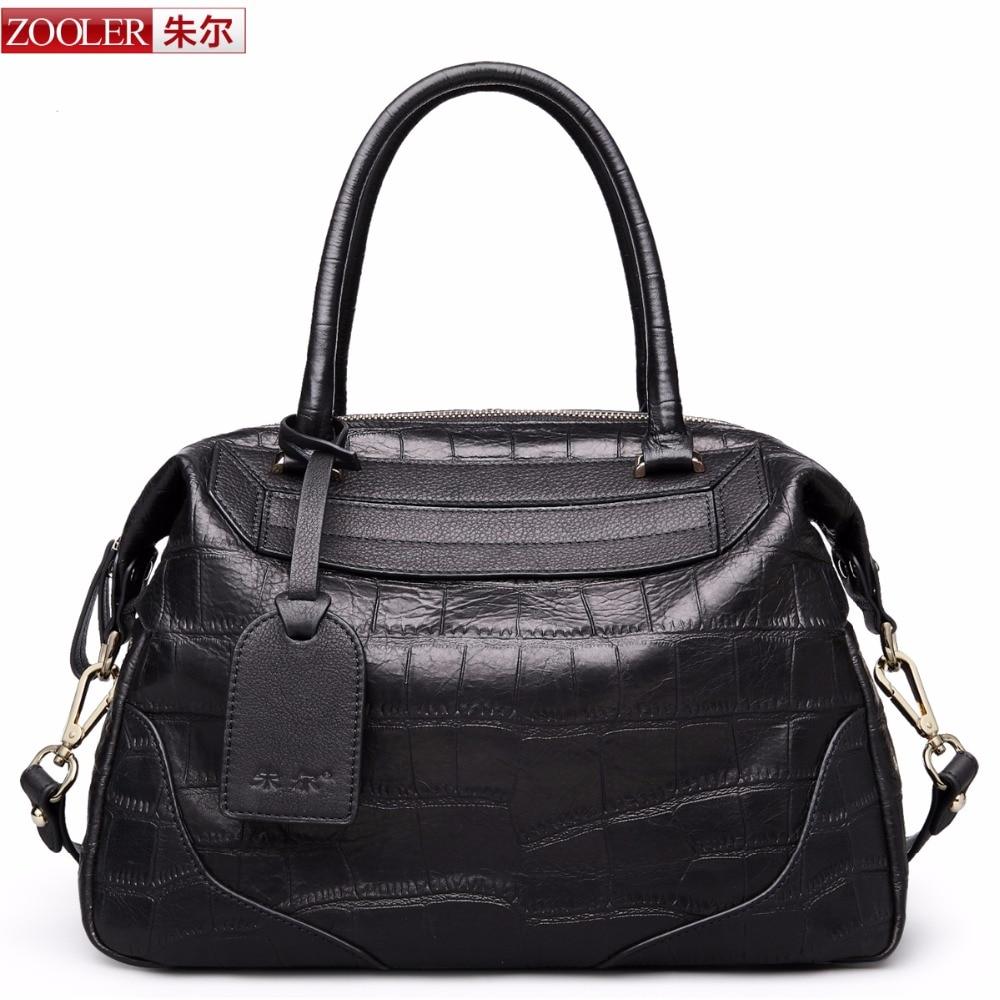 Guarrenteened 100% cowhide luxury women bag ZOOLER brands top handle bag genuine leather shoulder bags bolsa feminina3626<br><br>Aliexpress