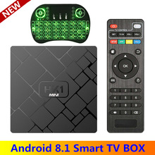 Оригинальный HK1 Мини Android 8,1 ТВ BOX Smart 4 K RK3229 Quad-Core 2 GB 16 GB H.265 Wi-Fi Media Player HK1mini Netflix телеприставке IP ТВ(China)