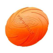 Soft Eco-friendly Rubber Pet Dog Flying Disc Tooth Resistant Training Fetch Toy Play Frisbee Dogs Toys Funny Play Balls 17.5cm