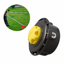 125*80mm Nylon Trimmer Head Bump Feed Line Grass Trimmer Head Brush Cutter Garden Lawn Mower Accessories High Quality(China)