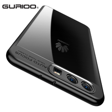 Gurioo Full Protective Case for Huawei P10 TPU & PC Hard Clear Slim Back Cover Huawei P10 Plus Phone Funda(China)