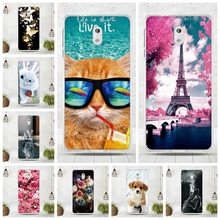 "Soft Silicone Cover For Nokia 3 Cover Coque For 3D Relief Drawing Case Soft TPU Coque For Nokia3 Covers 5.0"" Mobile Phone Bags(China)"