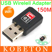 10pcs Mini USB 2.0 WiFi Wireless Adapter 150M Network LAN Card 150Mbps 802.11 n/g/b RT 7601 For Apple Macbook Pro Air Win Xp 7 8