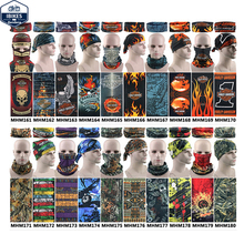 1pc/lot Wholesale Harley Design Multi Bandana Skull Motorcycle Biker Face Mask Neck Scarf  Magic Bandana Harley Free Shipping