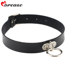 Buy Morease Bondage Sex Necklace Punk Neck Ring Erotic Sexo Fetish Adult Games Women brinquedos sexuais Sex Toys Product