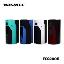 Russian warehouse Original Wismec Reuleaux RX200S upgraded wismec reuleaux rx200 huge vape rx 200 box mod Fitl Smok TFV8 Tank