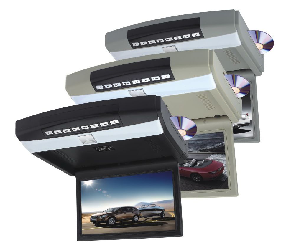 CARAVAN CAR 10.1 Inch LED Car AUTO Roofmount DVD Player Flim Down DVD/Games/USB/IR/FM/Speaker(China)