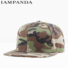 Iampanda Limited Hot Sale Brand 2017 Spring Cap Camouflage Baseball Snapback Hip Hop Caps Gorra Hats For Trucker Flat Hat Youth