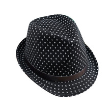 Fashion Child Girls Boys Hat Cool Cross Stars Neutral Cotton Baby Jazz Hat Cap(China)