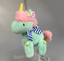 Sanrio Little Twin Stars Blue Unicorn Plush Toy Pendant 5cm(China)