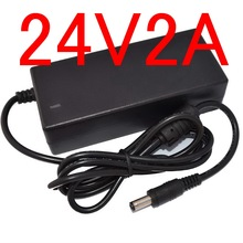 1pcs 24V2A replace (24V 1.75A )AC Adaptor Power Supply for Dymo Labelwriter 450 Turbo Label Printer