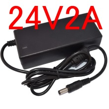 1pcs 24V2A replace (24V 1.75A )AC Adaptor Power Supply for Dymo Labelwriter 450 Turbo Label Printer(China)