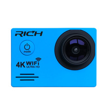 RICH J550R Sports Cameras 4K 2.7K 1080P Action Camera 16MP WiFi Sports Cameras 30M Waterproof 2.0LCD Full HD DVR 170 Cheap price(China)