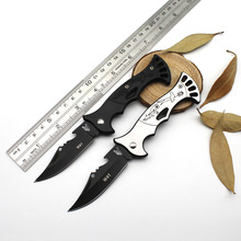 Portable Folding Camping Knife Tactical Rescue Survival Hunting Knife Stainless steel handle Outdoor Survival EDC Hand Tools(China)