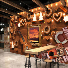 beibehang Violin alphabet wood carvings Custom papel de parede 3D Wall Paper roll Wall Covering Bedroom TV Background Wallpapers