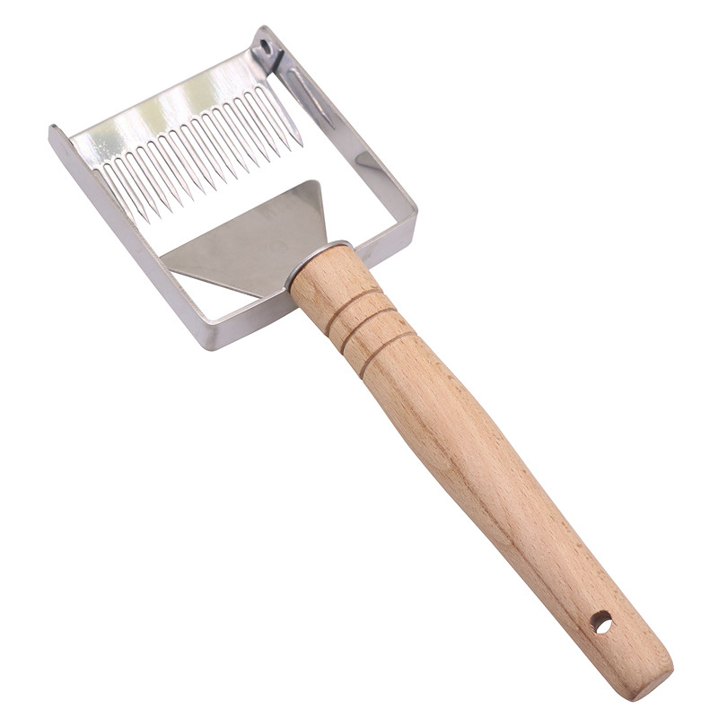 Metal Bee Honey Shovel Scraper Hive Tool Beekeeping Equipment 8/'/'