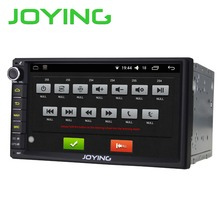 "Joying 7"" Double 2 Din Android 6.0 Multimedia Player Universal Car Radio Quad Core 1024*600 HD Car GPS Navigation Head Unit PC"