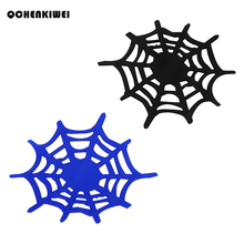 Anti-slip Mat Non Slip Sticky Dash Sheet Spider Web Car-styling Car Mobile Phone Holder Silicone Grip Pad Tablet Phone Bracket(China)