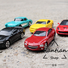 1: 64 alloy car model children's toy sports car Chevrolet series 5pcs children like the gift worthy of collection