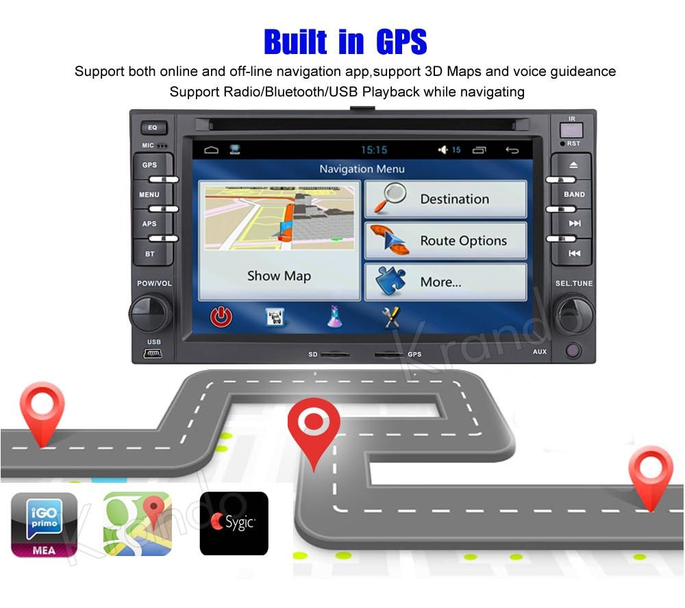 Krando kia ceed sportage Android car radio gps navigation multimedia system (9)