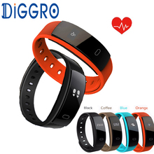 QS80 Smart Wristband Blood Pressure Bracelet Heart Rate Fitness Sleep Measure Waterproof Call Tracker for Android iOS pk miband
