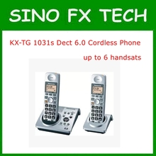 KX-TG 1031s Dect 6.0 Cordless Phone Set 2 Handsets Digital Wireless Telephone Recording Stand-alone Home Phone KX-TG 1031