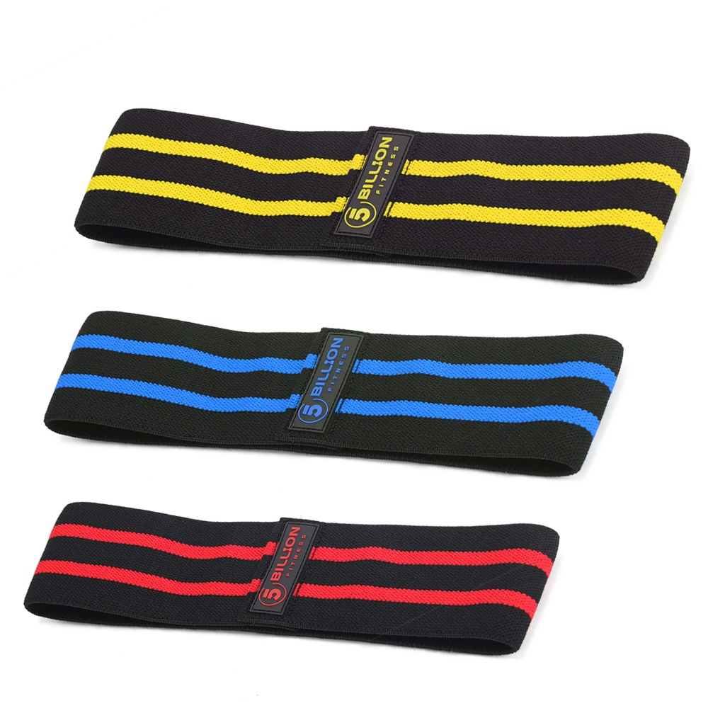 5BILLION Resistance Hip Bands Premium Exercise Bands For Booty-Thigh /& Glutes