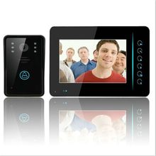 "Free Shipping 7"" TFT 2.4G Wireless Video Door Phone Intercom Doorbell Home Security Camera Monitor"