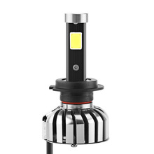 LED COB Headlight Car Fog Light Super Bright 8000lm N7 Headlights H7 Headlamp Auto Front Bulbs DRL Lamp - automotor2016 Store store