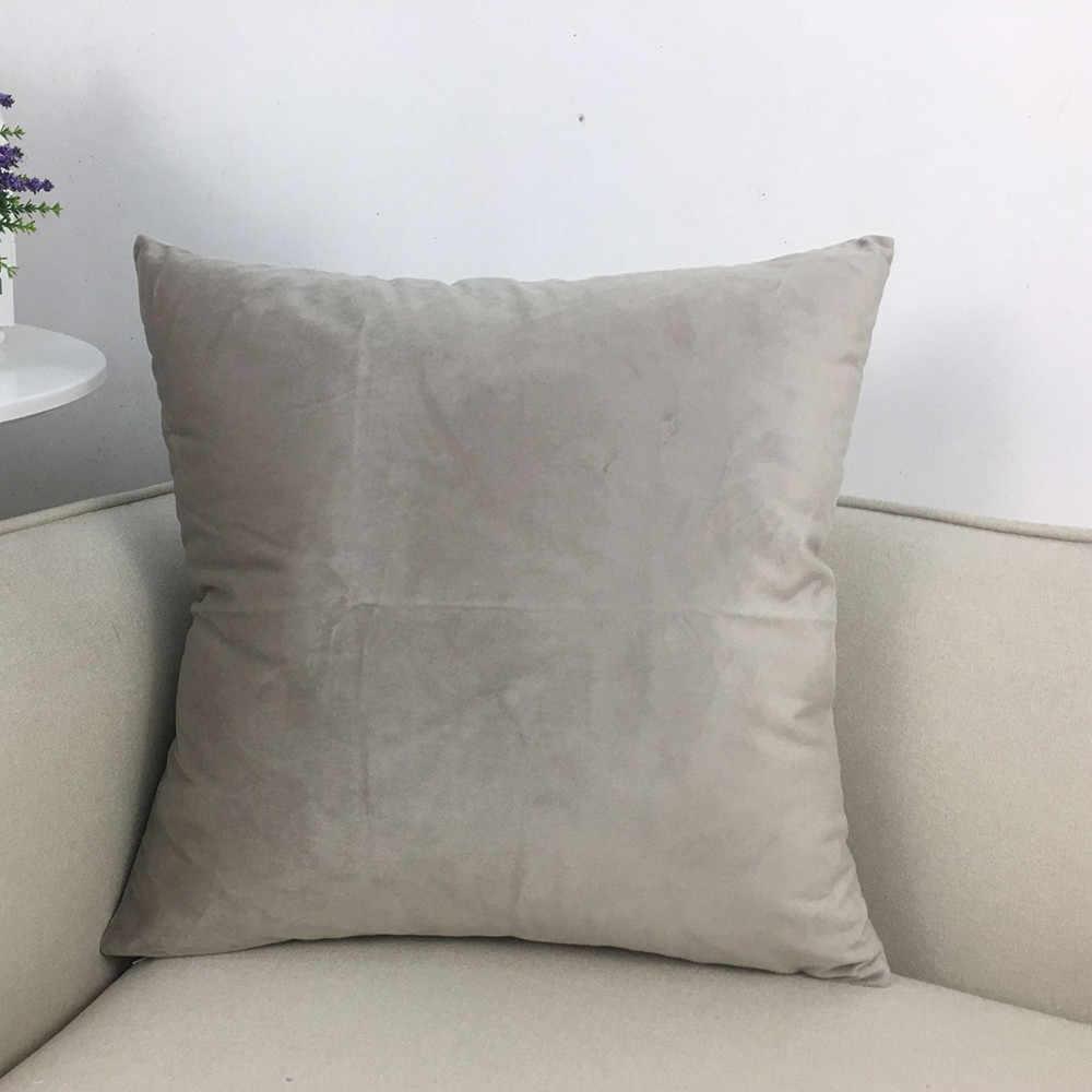 Square Cushion Cover Pillowslip Pillowcase Decoration Cover Dog 60x60cm