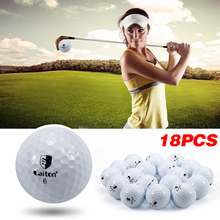 Brand Golf Sport Outdoor Game Training Match Competition Rubber Three Layers Golf Ball High Grade Golf Ball White Free shipping!
