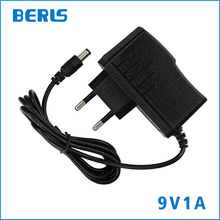 New Arrival 9 V DC Power Adapter 1A 1000mA For Router 5.5*2.1mm EU Plug