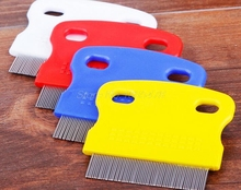 1000PCCS Pet Dog Cat Clean Comb Grooming Tool Steel Small Fine Toothed Comb Catching Lice(China)
